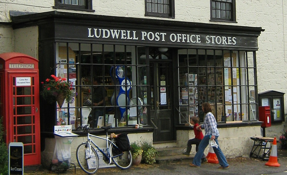Ludwell Post Office