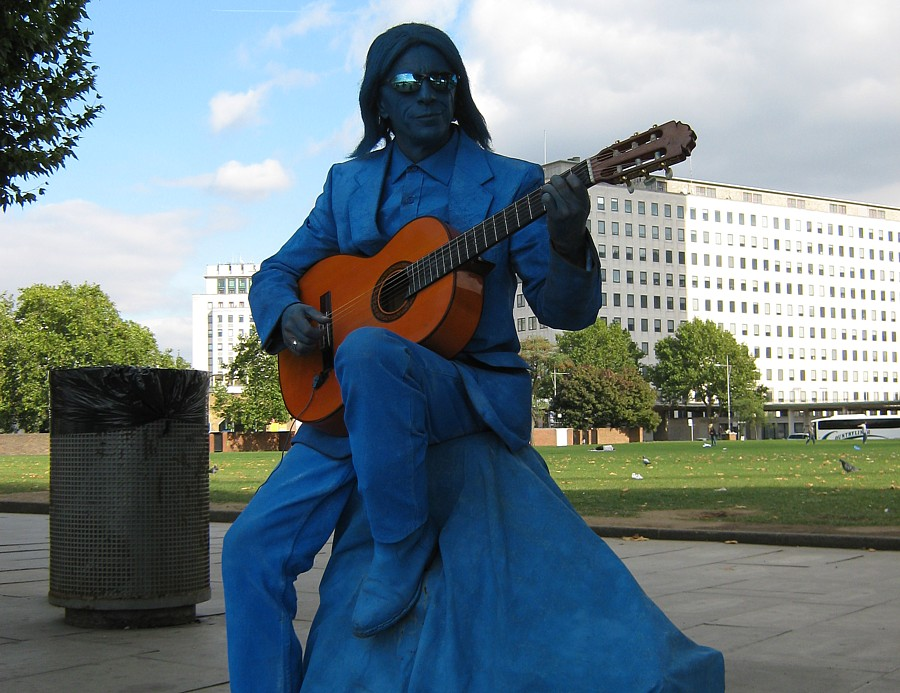 South Bank Busker