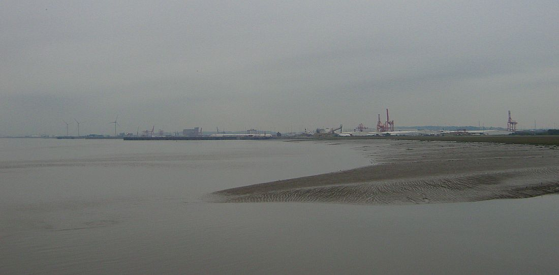 Avonmouth from Portishead