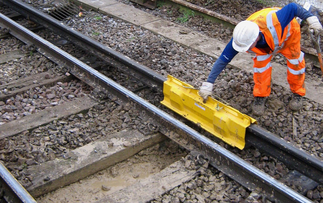 Fareham station maintenance