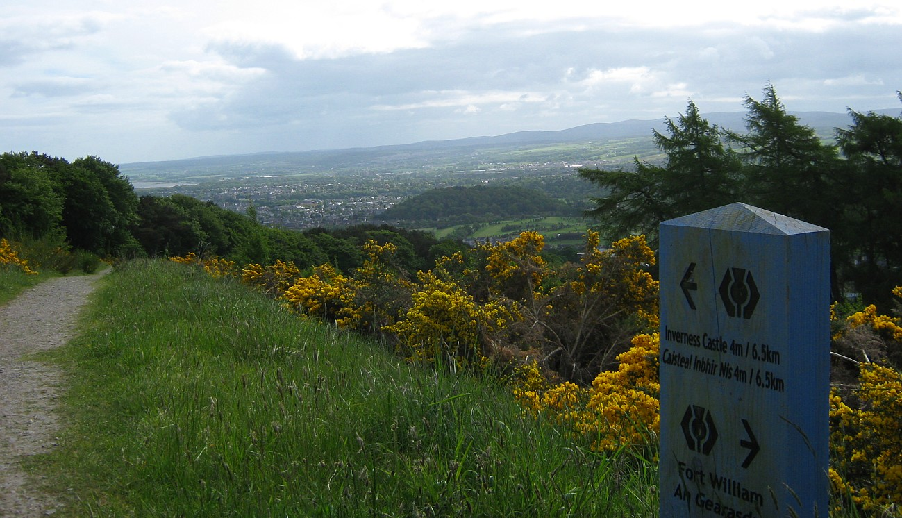 Inverness from Dunain Hill