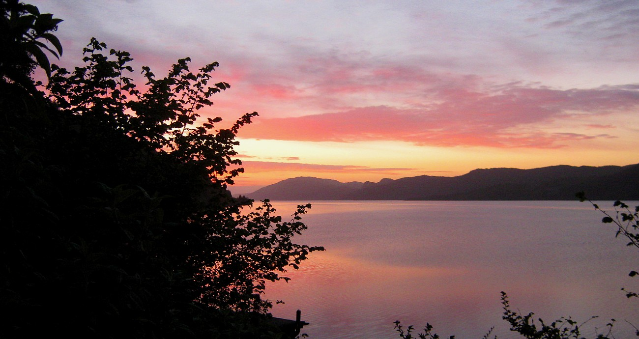 Dawn over Loch Ness