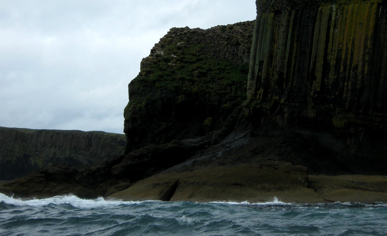 Staffa from Seaward