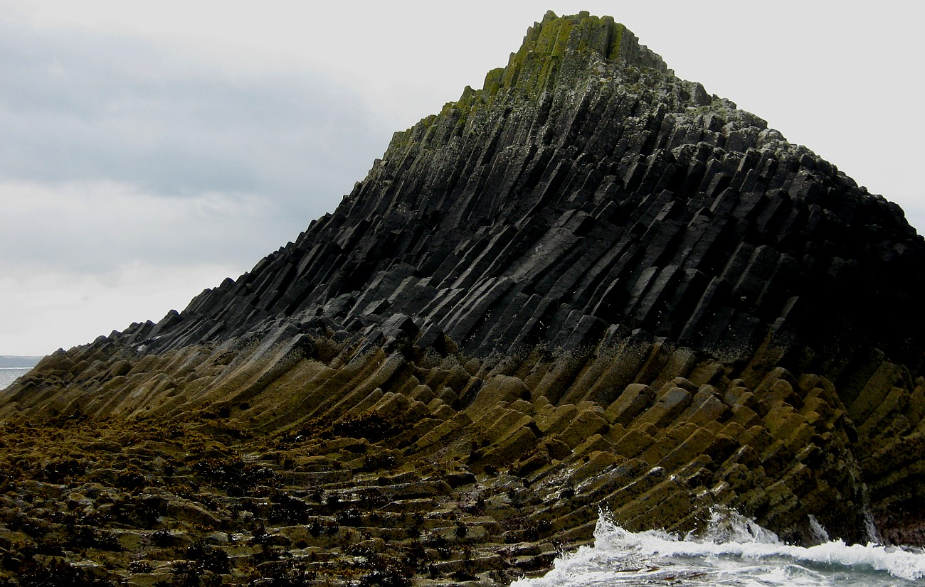 Staffa Rock Formation from Landing Jetty
