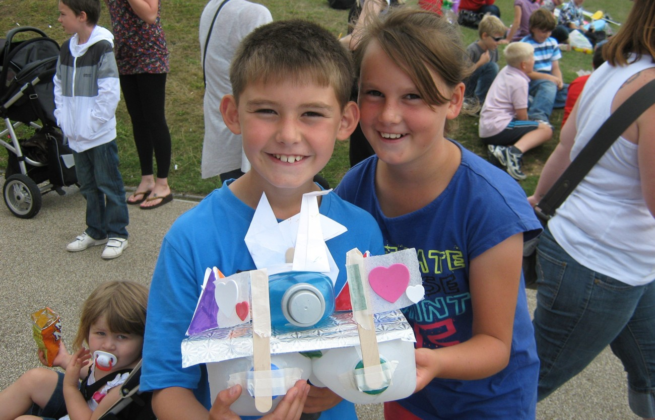 Gosport Schools Recycled Boats