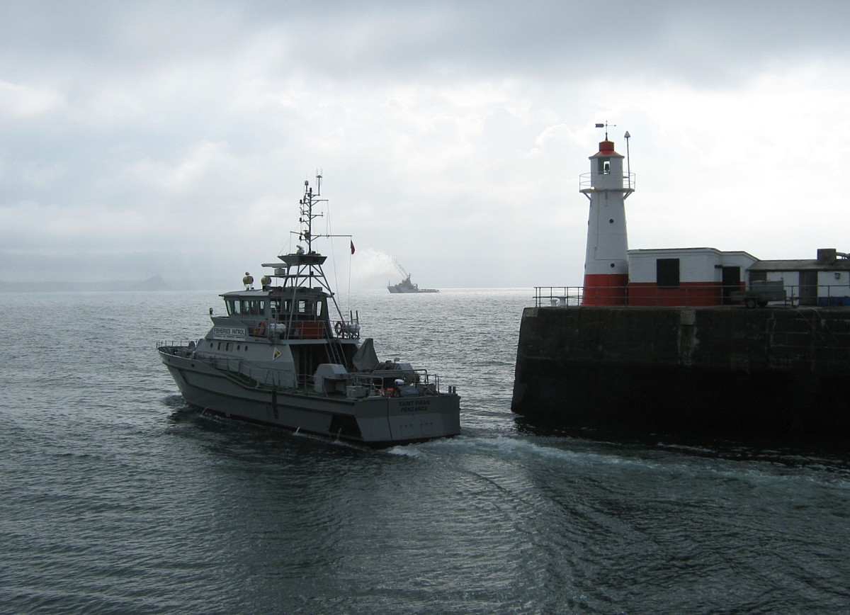 Fisheries Patrol Vessel Departs Newlyn