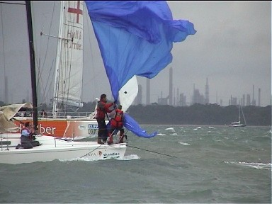 Cowes Week 2008 IRC 4 & Sunsail 37s 10