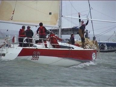 Cowes Week 2008 IRC 4 & Sunsail 37s 12